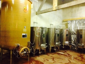 Le chai de vinification